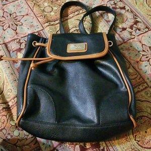 Red herring mini backpack